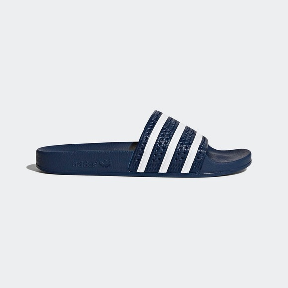 Le adidas Uomo originali adilette diapositive poshmark blu
